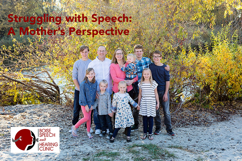 Struggling with Speech: A Mother's Perspective