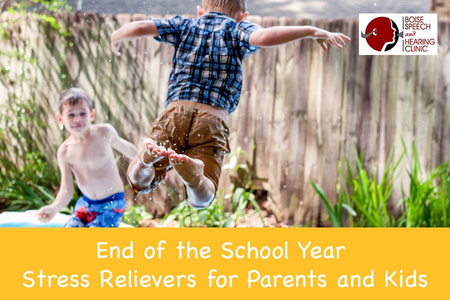 End of the School Year Stress Relievers for Parents and Kids