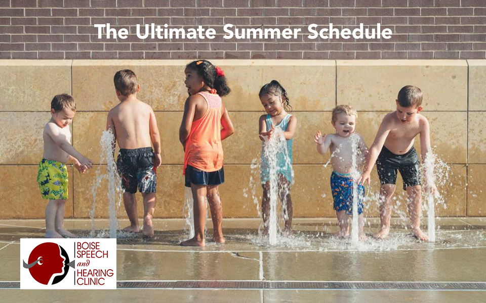 The Ultimate Summer Schedule