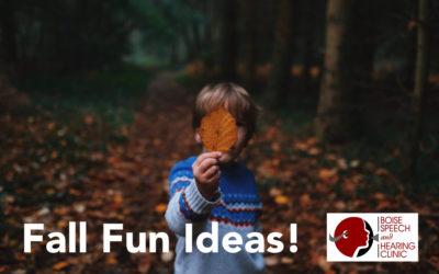 Fall Fun Ideas!