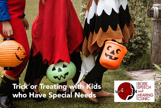 Trick or Treating with Kids who Have Special Needs