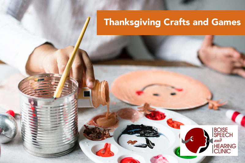 Thanksgiving Crafts and Games