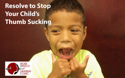 Resolve to Stop Your Child's Thumb Sucking